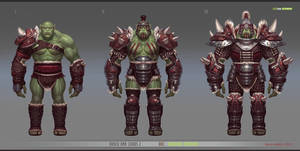 orc warrior by texahol