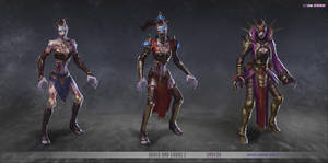 redsteam CA chara Undead Female Mage by texahol