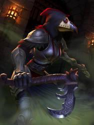 Izanami plague bearer by texahol