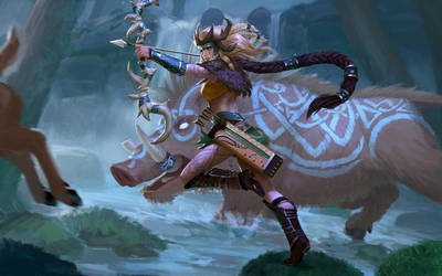 Artemis Oakseer by texahol