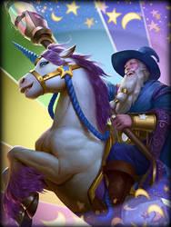 Guan Yu Wizard by texahol