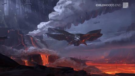 Childhoods End Concept Art 001 by alexson1