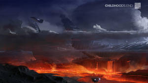 Childhoods End Concept Art 002 by alexson1