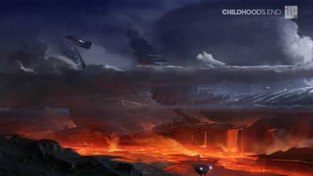 Childhoods End Concept Art 002 by alexson1