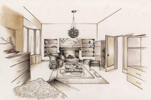 Bedroom Design by whatistug