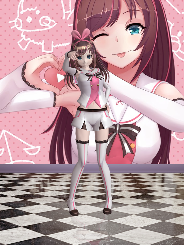 Kizuna Ai - Xnalara Model by KiiraUsunaii