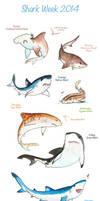 Shark Week 2014 by Domisea