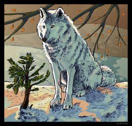 Le Loup by Domisea