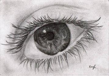 Eye Study by Cloudless-Rain