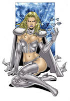 Emma Frost - X-men by AssisEzequiel