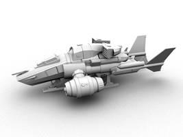 Transport Ship by Maxidius