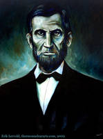 Abe Lincoln by lervold