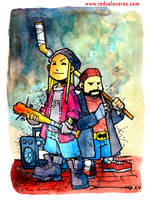 Jay and Silent Bob by lervold