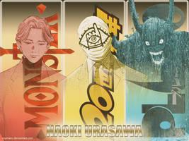 Naoki Urasawa's Big 3 by Roymaru