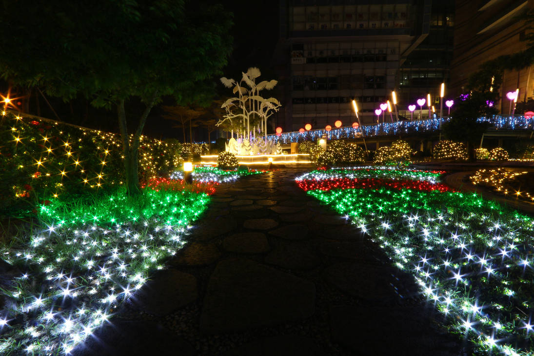 2018. Taiwan. Kaohsiung. Dream Age. Christmas Nigh by wuxjn