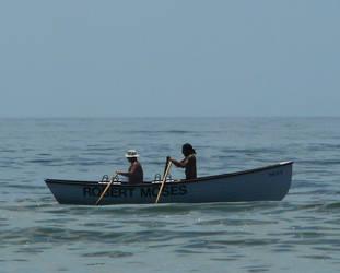 2 guy's on a boat. by Heimyu
