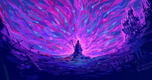Wizard of Darkness by Xanderleonart