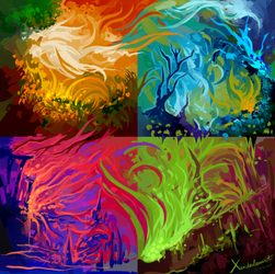 Colors Experiment by Xanderleonart