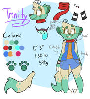 Updated Trin ref (fursona) (CURRENT) by ColorSoul-Drawz