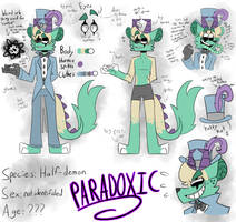 Paradoxic Reference Sheet (READ DESC) by ColorSoul-Drawz