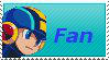 MegaMan Fan Stamp by Firesonic152