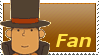 Professor Layton Fan Stamp by Firesonic152
