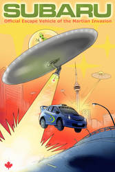 Subaru Confidence in Art Contest entry by KJVallentin