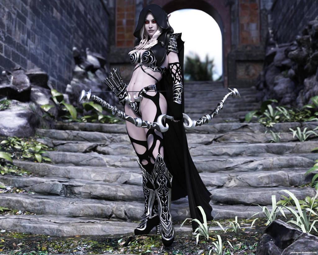 Dark Sylvanas by phdemons