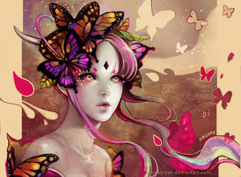 Butterfly Dance by Chucky-tan