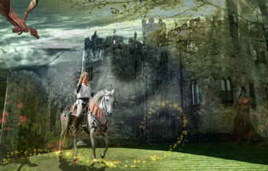 A dream wanders... by BootsMadeForWalking