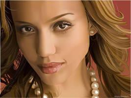 Jessica Alba by Kristricia