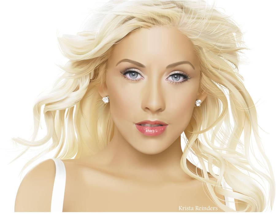 Christina Aguilera by Kristricia