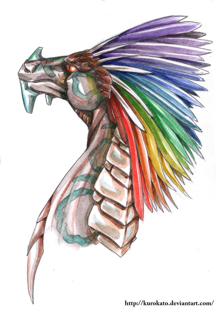 Rainbowdragon by KuroKato
