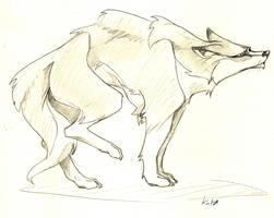Wolf and wolf by KuroKato