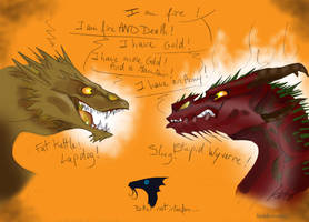 When fire meet fire by KuroKato