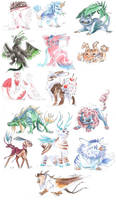 Familiers Niveau 3 by KuroKato