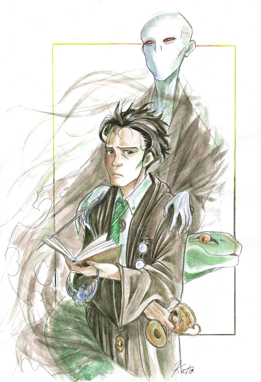 Voldemort since the beginning by KuroKato