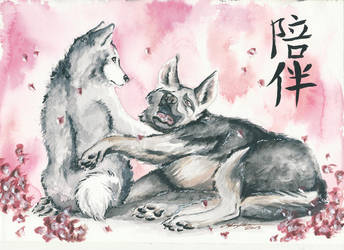 Companionship by mooni