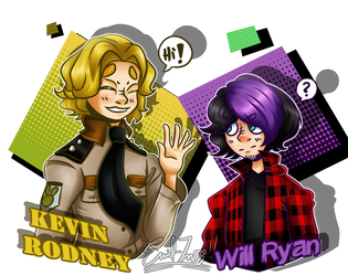 Kevin  Will [Collab - Lolbiter] by Emil-Inze