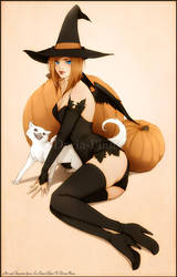 + Little Witch + by Doria-Plume