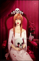 :KIRI: The Death Lady by Doria-Plume