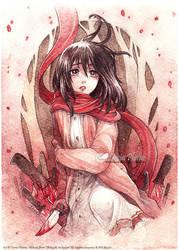 Mikasa's Childhood by Doria-Plume