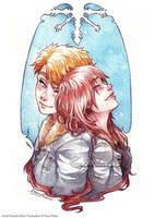 Snowflakes by Doria-Plume