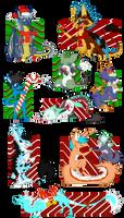Happy Chibi Holidays! by Kitsooki
