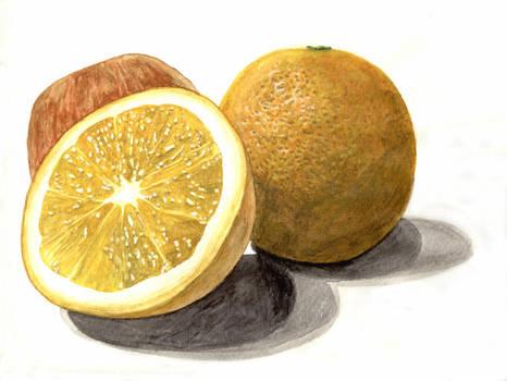 Orangen Apple by Cyb007