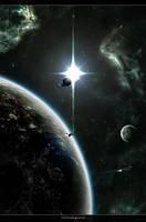 Orbital patrol by Camille-Besneville