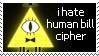 anti humanized bill cipher by Sweetie-Pinkie