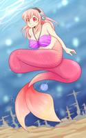 Mermaid Sonico by Weepinbelly