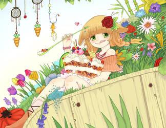 Spring Salad by e-hima