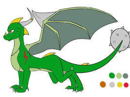 one dragon adopt SOLD by CloudineTibaut